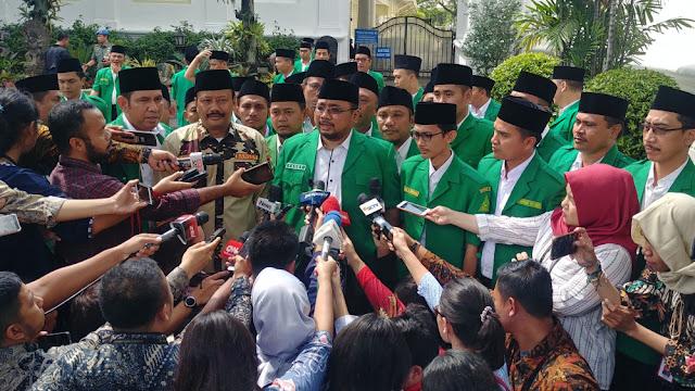 Temui Jokowi, GP Ansor Lapor Ada Kelompok Pro Khilafah Dukung Salah Satu Capres