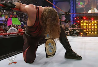 WWE / WWF Judgement Day 2001 - Kane beat HHH for the Intercontinental Championship