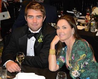 Liam Costner with his mother Bridget Rooney