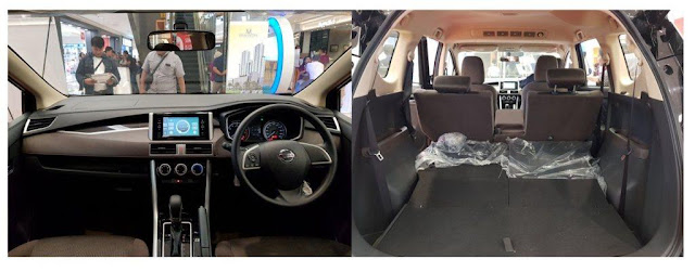 Interior Nissan Livina 2019