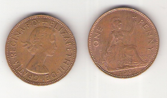 Raja S Coins Sale Great Britain One Penny Old Rare Coin