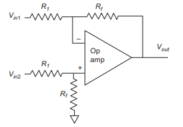 Prinsip Kerja Differential Amplifier