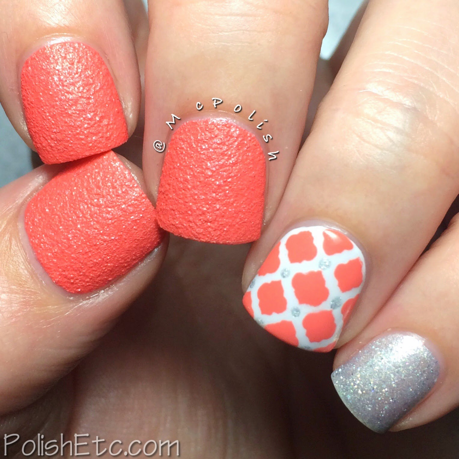 31 Day Nail Art Challenge - #31dc2014 - McPolish - INSPIRED BY A COLOR