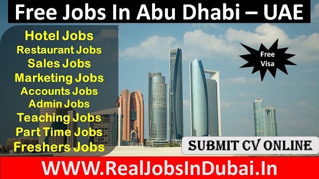 Jobs In Abu Dhabi  UAE 2021