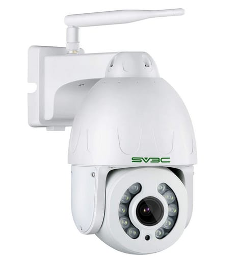 SV3C 2021 New Auto Track PTZ WiFi Wireless Camera
