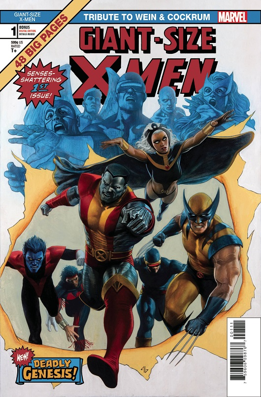 Cover of Giant-Size X-Men Tribute: Wein / Cockrum