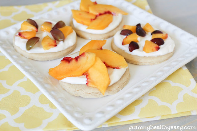 Healthy Mini Fruit Pizzas