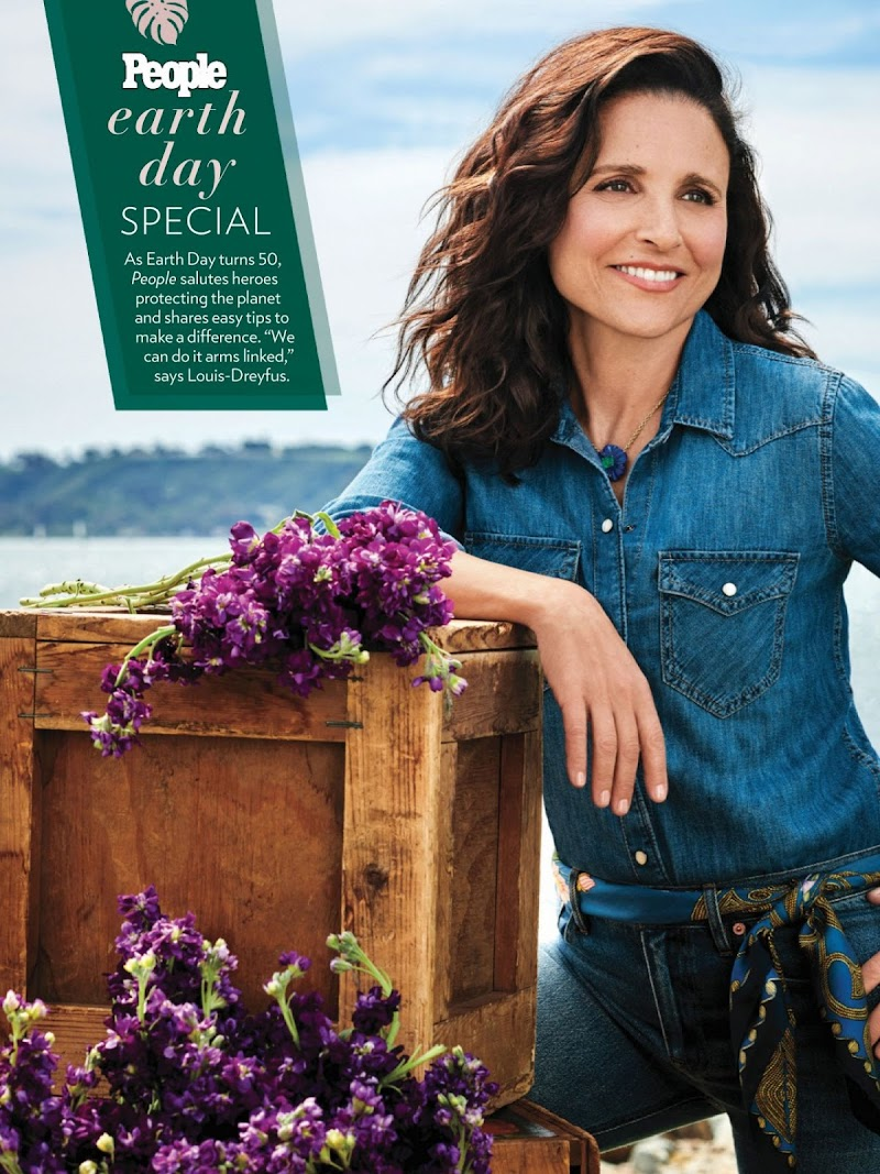 Julia Louis-Dreyfus Featured For – People USA 27 Apr-2020 Issue | Celebrity Photos Daily