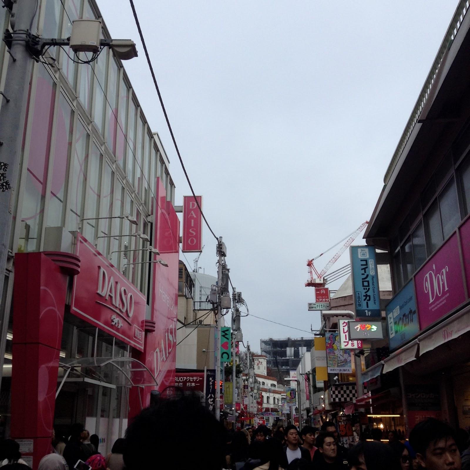 Takeshita street Harajuku Japan
