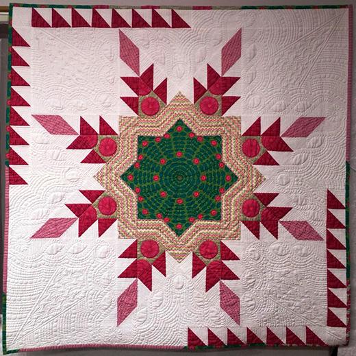 Radiant Star Quilt Free Pattern