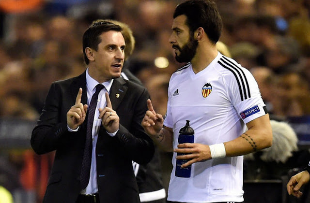 Gary Neville: Coaching Valencia is a Strange Experience