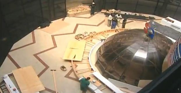Pictures Of Ktn Election Studio While Under Construction