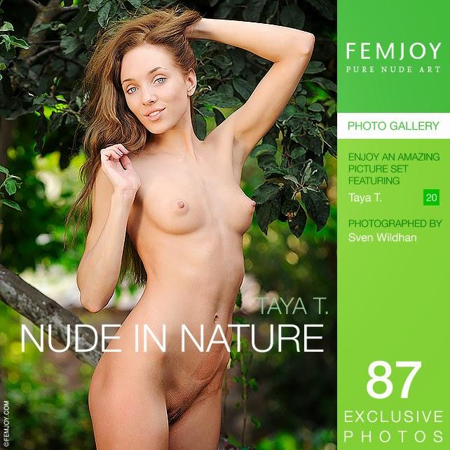 Femjoy 2014-10-09 Taya T - Nude In Nature 10120