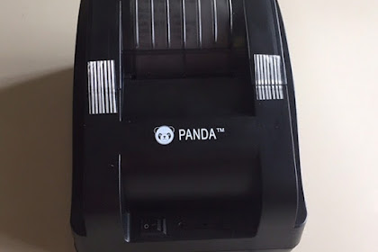 Installasi Driver Printer Thermal PANDA 58mm