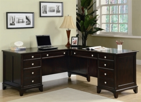 l shaped home office computer desk