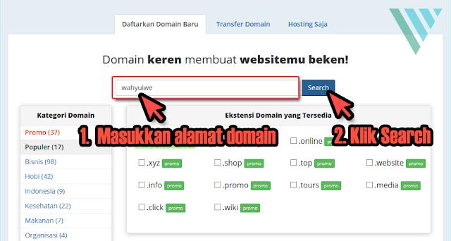 Cara Melakukan Pembelian Domain TLD