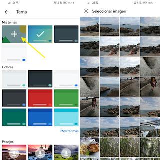 غوغل |  تعرف على الطريقة وضع صورة لك في لوحة مفاتيح هاتفك من طرف غوغل
