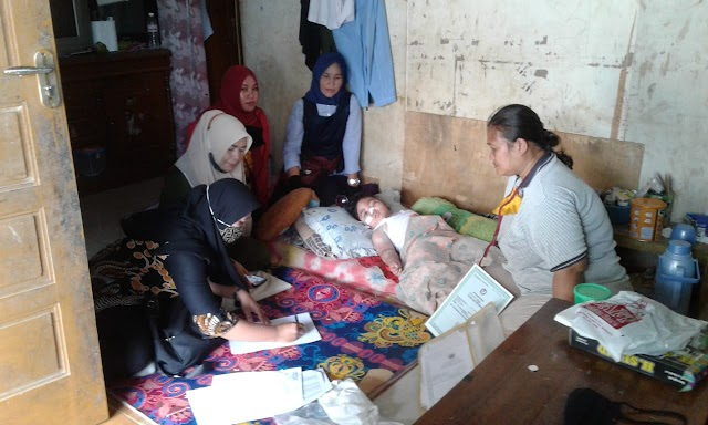 Kemensos dan Yayasan Cinta Amelia Membantu Pengobatan Bagi Warga Kurang Mampu di Bandar Lampung