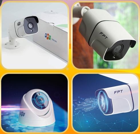 Khuyến mãi lắp trọn bộ 2 camera FPT Full HD 1080P