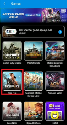 MUDAH! Cara TOP UP Diamond Free Fire Lewat DANA