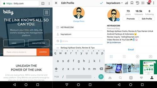 3 Cara Membuat Link Whatsapp Di Instagram Updated