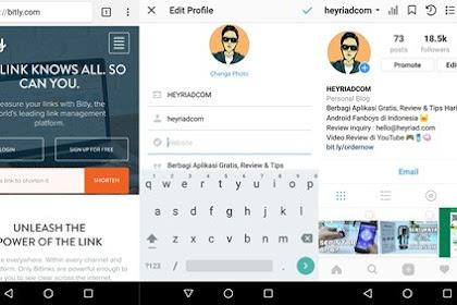 3 Cara Membuat Link Whatsapp di Instagram
