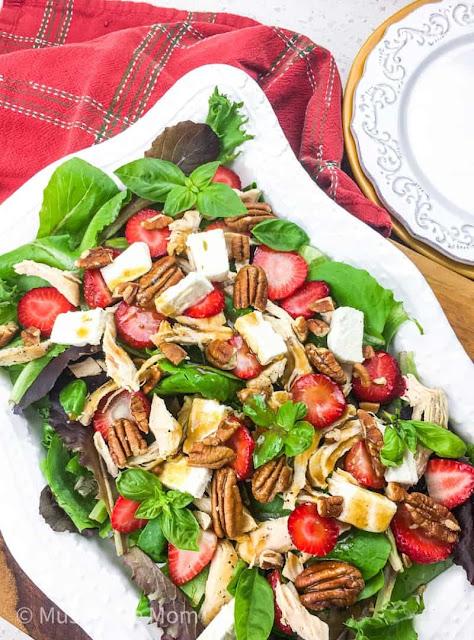 strawberry tossed salad