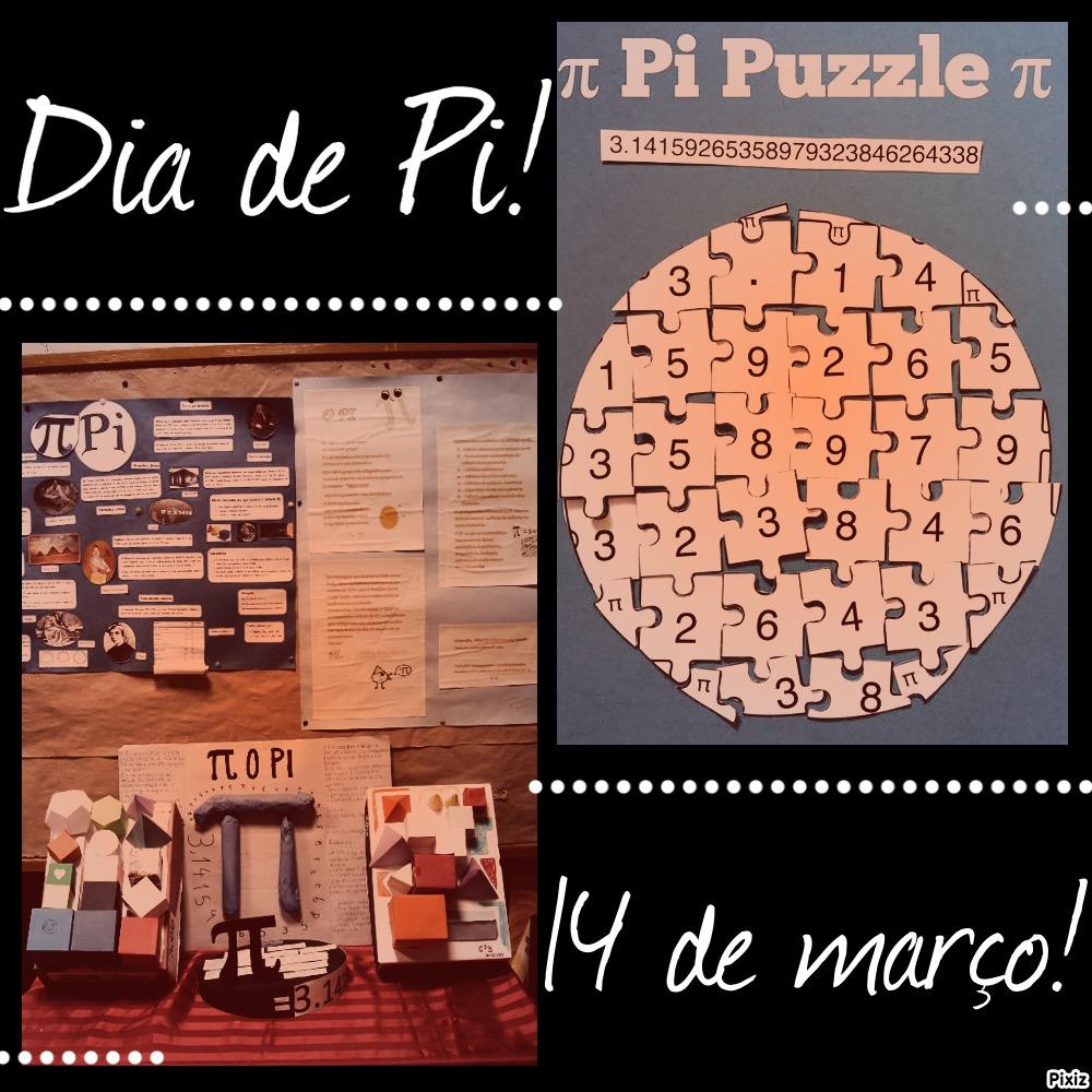 Biblioteca Diamantina Negrão: Dia de Pi - 14 de março