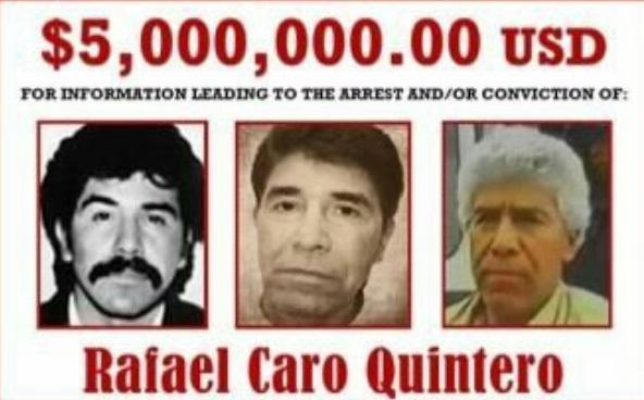 Sin pruebas, la vengativa y rencorosa DEA no perdona  revive a Caro Quintero en el día de muertos