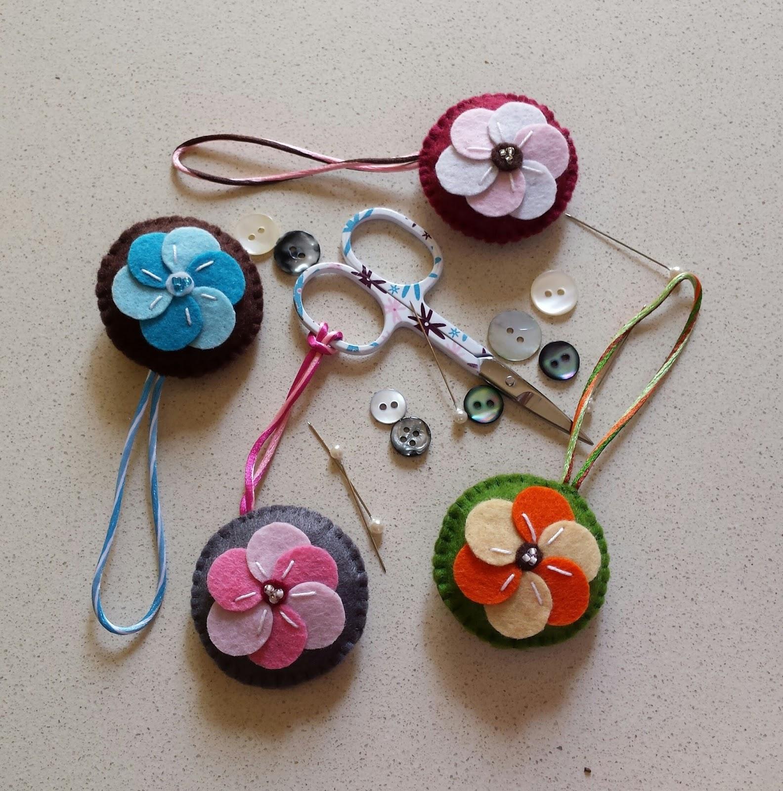 Anillos y botones set de costura de fieltro - Set de costura ...