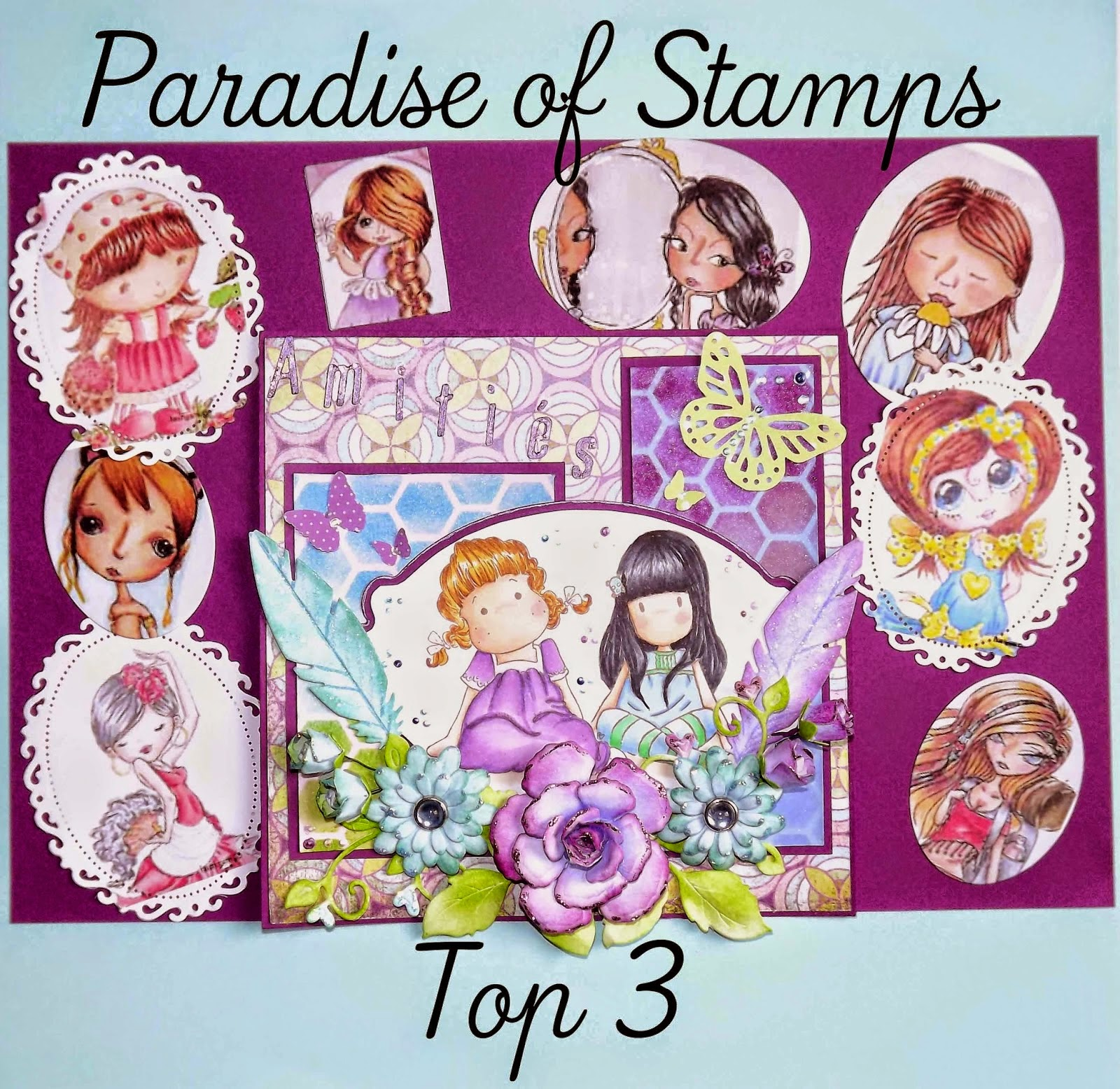 Top 3 @ Paradise of Stamps 18th Jan'