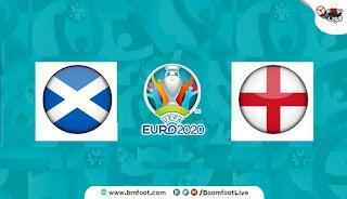 مشاهدة مباراة انجلترا واسكتلندا بث مباشر اليوم في كأس أمم أوروبا
