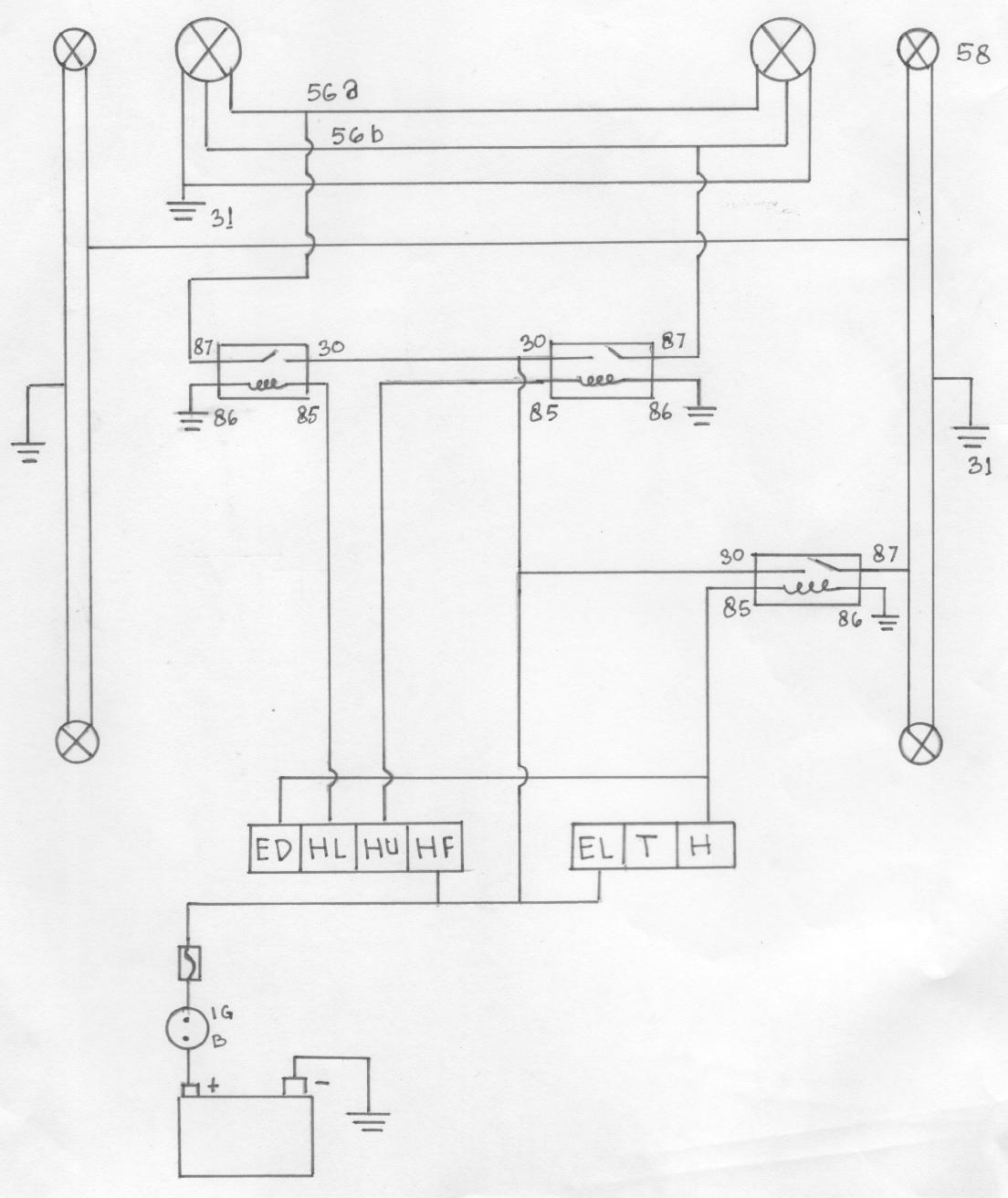 Wiring Kelistrikan Lampu Kepala Online Wiring Diagram