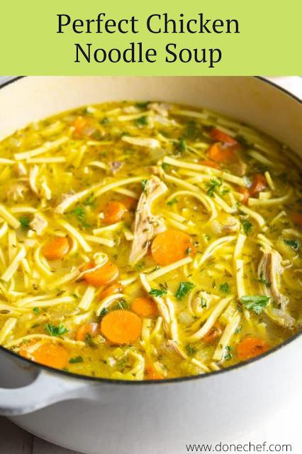Perfect Chicken Noodle Soup