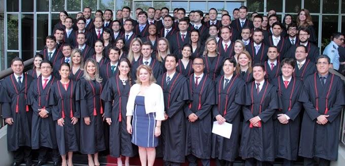 Tribunal de Justiça empossa 76 novos juízes