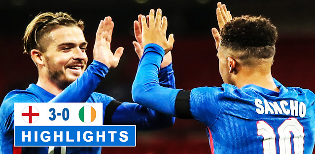 England vs Republic of Ireland – Highlights