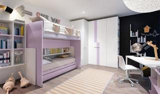 dormitorio moderno dos hermanas