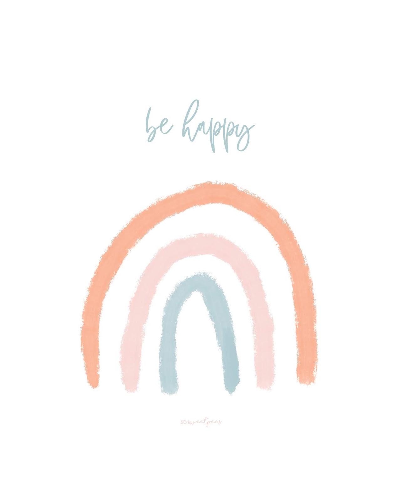 Sweetpeas Picks - Rainbow Art