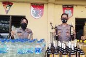 Operasi Pekat Di Solo, Polisi Temukan Puluhan Botol Miras Ciu Ditempat Kos Banyuanyar