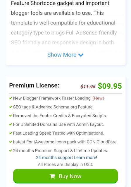Sarkari Result Blogger Template Download