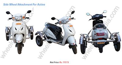 Honda Activa Handicapped