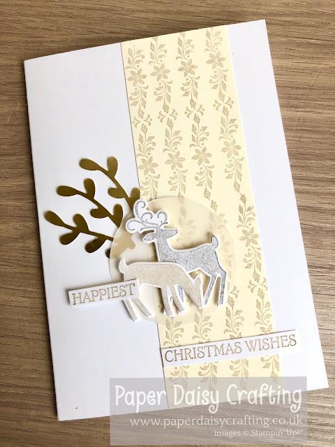 Dashing Deer Stampin Up Paper Daisy Crafting