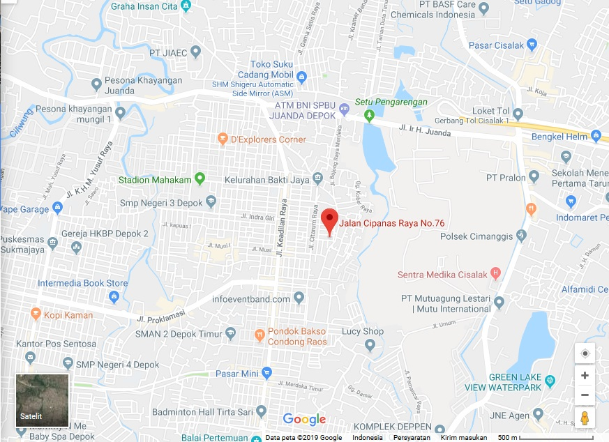 Menuju Peta Google Map