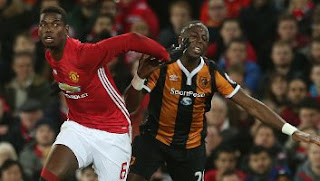 Video Gol Manchester United vs Hull City 2-0 EFL Cup