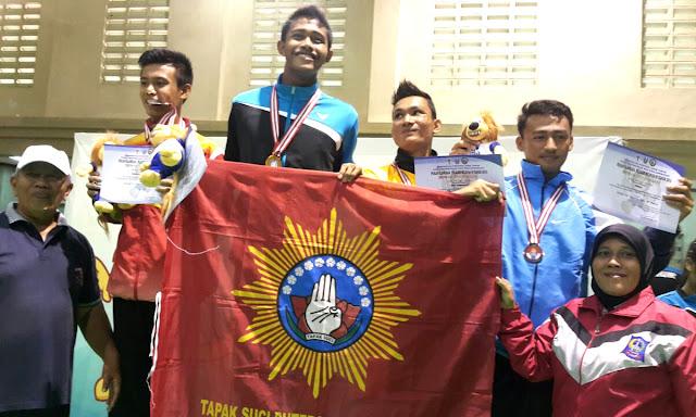 Juara Pencak Silat Popwil Jawa Timur