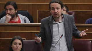 """El líder de Podemos reconoce que """"muchas familias españolas, incluso con dos sueldos, no pueden permitirse una hipoteca así"""" y esgrime que por eso """"es tan importante defender salarios dignos para todos"""""""