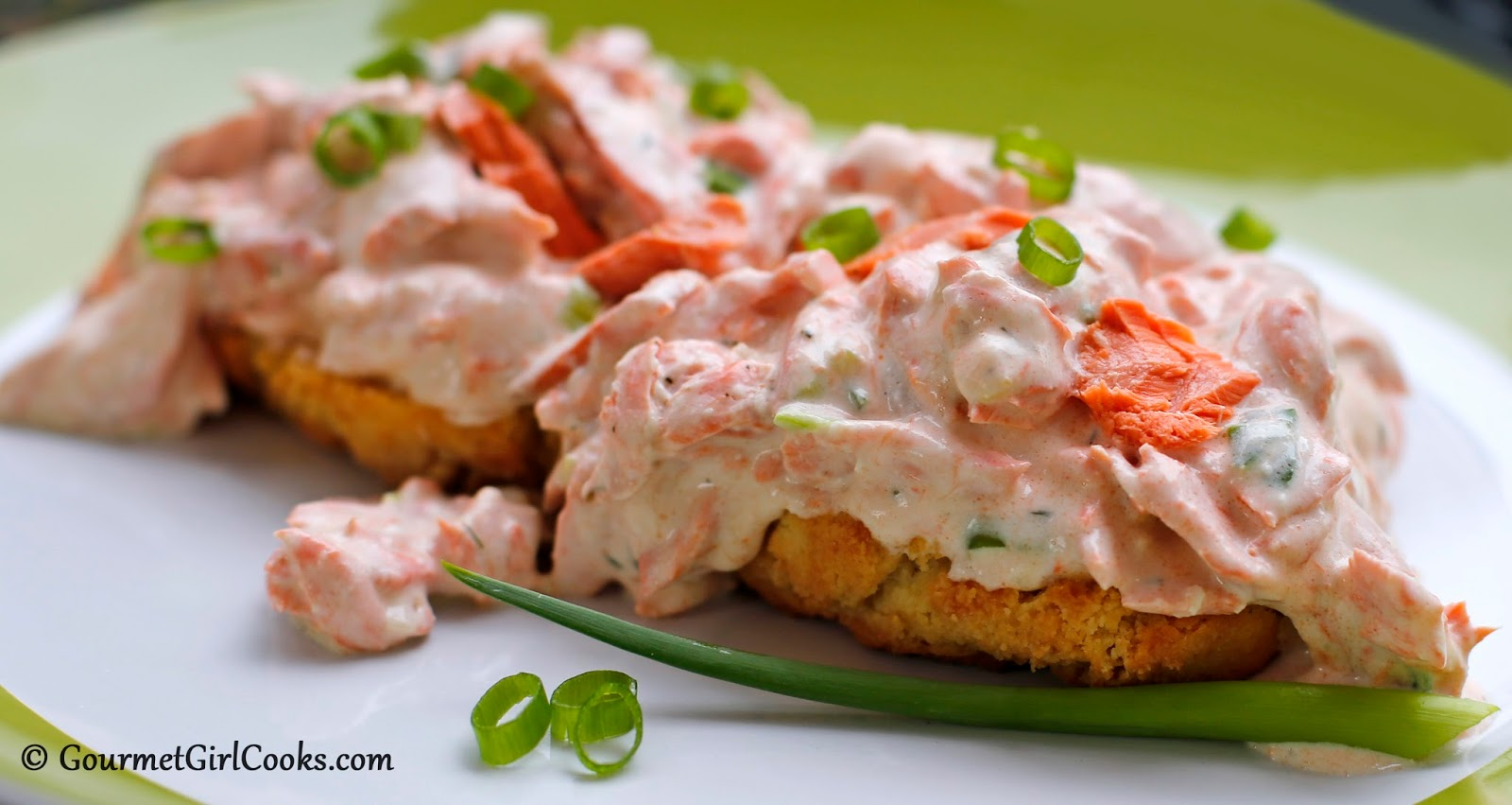 Gourmet Girl Cooks Creamed Salmon Amp Biscuits Copper