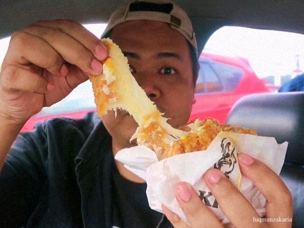 KFC Cheezilla Double Down Baharu