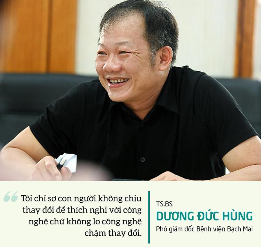 TS.BS Dương Đức Hùng: Con người cần thay đổi để thích nghi với công nghệ