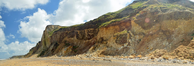 The cliffs at East Runton, Norfolk